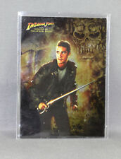 INDIANA JONES KINGDOM OF THE CRYSTAL SKULL No: 5 OF 10 FOIL CARD - NEW (TOPPS)