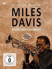 MILES DAVIS - ROUND ABOUT MIDNIGHT   DVD NEU
