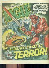 EAGLE #223 weekly British comic book June 28 1986 VG+
