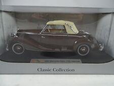 1:18 Signature Mercedes Museo 1950 Mercedes-Benz 170S cabriolet Marrone