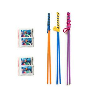 3 HandMade Bubbles Sticks - For big, medium and small Bubbles + Liquid up to 25L