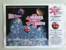 NEXT GENERATION HEAVEN ON EARTH BOURNEMOUTH 1993 RAVE FLYERS FLYER