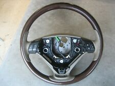 04-12 Volvo XC90 Wood and Pecan Leather Steering Wheel
