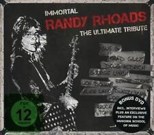 Immortal Randy Rhoads-Ultimate Tribute von Various Artists (2015) CD+DVD