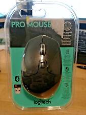 New Logitech Pro Mouse 910-005247 Black Wireless