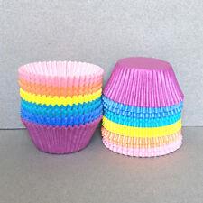 Pastel Rainbow Cupcake Liners, Rainbow Cupcake Wrappers, Rainbow Baking Cups