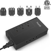 Power Voltage Converter Adapter Step Down 220 to 110 2000W with 4 Smart USB-ETL