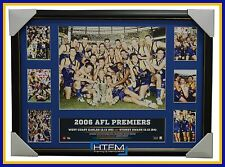 2006 AFL Premiers West Coast Eagles AFL L/E Official Premiergraph Framed Judd
