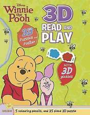 Disney Winnie The Pooh 3D Read And Play Pack (Disney 3d Puzzle Playpack), Disney