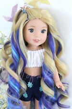 Sand Ocean wig for Wellie Wisher - Heart 4 Heart - BJD doll - Paola Reina