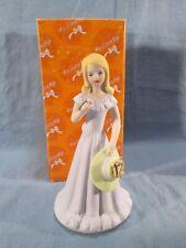 "Enesco ""Growing Up"" Birthday Girl Figure- Blonde- Age 12 In Box"