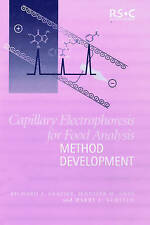 Capillary Electrophoresis for Food Analysis: Method Development by Frazier, Ric