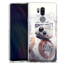 LG G7 ThinQ Silikon Hülle Case - BB8 - Star Wars 8
