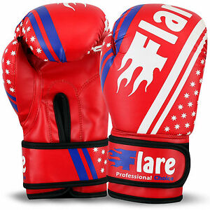 Kids Boxing Gloves Sparring Mitts MMA Punch Bag Training Unisex Size 6oz