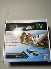 CellNorth 3D Video Wizard HDMITV InterfaceRemote Control w/4Glasses& 2HDMI Cords