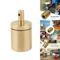 Gas Refill Adapter For Outdoor Camping Hiking Stove Inflate Butane Canister Tank