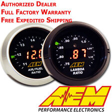 Aem 30-4110 Afr 52mm Wideband O2 Uego Controller Gauge Air Fuel Ratio 4.9 Lsu