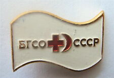 RED CROSS OF USSR - BE READY FOR SANITARY DEFENSE PIN