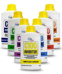 Central Heating Chemicals Concentrated 500ml Range - each treats a full system