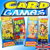 Kids Card Games Classic game Travel Fun Snap Happy Families Zoo Escape Fish