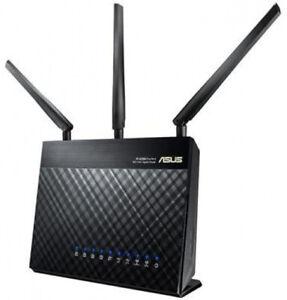 +++ ASUS RT-AC68U WLAN Router Dual-Band (2.4 GHz/5 GHz) Gigabit Ethernet 3G 4G