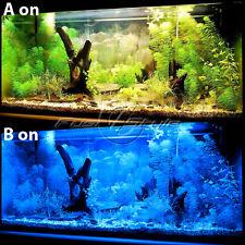 """60-LEDs White & Blue LED Light Full Spectrum Aquarium Fish Tank Light 18""""-24"""""""
