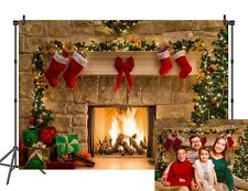 Snowflake Christmas Backdrop for Party Decorations Photography Background 7x5ft