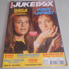 JUKEBOX Magazine 185 / SHEILA l'interview ..MARIE LAFORET poster ROLLING STONES