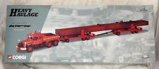 Corgi Heavy Haulage Model Truck in Original Box 1:50 Scale 2000 Red #18004 69cm