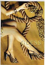 Publicité Advertising 2007 Les Chaussures Escarpins Guess by Marciano