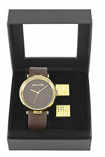 Pierre Cardin PCX4703G10 Men's Watch With Cufflinks