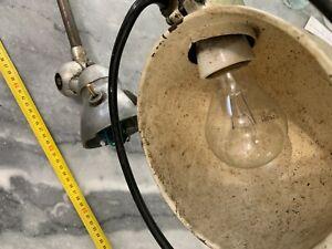 JIELDE Ancienne Lampe Atelier Design vintage Industriel 2 Bras