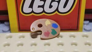Lego Minifig Accessory Painters Easel Paint Palette - #93551pb01 - Artist Series