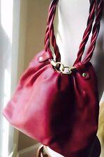 4d2681d44721 New ListingRELIC Cranberry Red Faux Leather Bag Purse Handbag Shoulder Bag