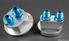 "Oil Filter Relocate Kit M22 X P1.5 #10AN & 5/8"" Barb Hose Fitting Large 3.66"" OD"