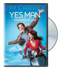 Yes Man/Monsieur Oui Jim Carrey English/French Vers NEW DVD FIRST CLASS SHIPPING
