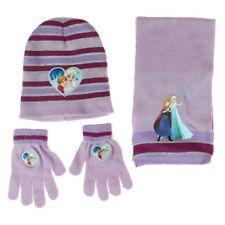 Écharpe, bonnet et gants la reine des neiges