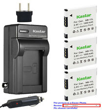 Kastar Battery Travel Charger for Canon NB-11L CB-2LD Canon A2300 Canon A2400 IS