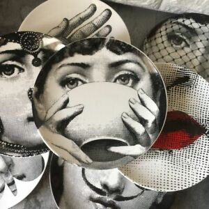 Fornasetti Style Plates Home Decoration Gift Plate Decorative Wall NEW !!! 🔥