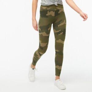 J Crew Camouflage Full Length Leggings New