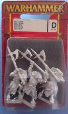 Warhammer Beastmen Bestigors x3 metal oop