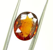 5.72 Ct Certified Natural Garnet/Hessonite/Gomed Loose Gemstone Stone - 118672
