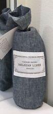 Restoration Hardware Vintage-Washed Belgian Linen Standard Sham Indigo NEW $99