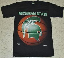 Michigan State shirt Basketball Vintage New Sparty sz Xl Ncaa deadstock Spartans
