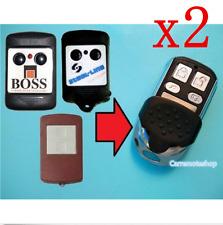 2x Boss BHT1 BHT2 Steel-Line BHT1 BHT2 HT1 Garage gate Remote 310mhz