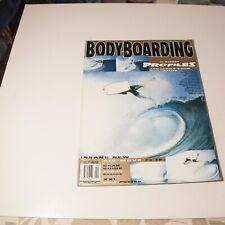 Bodyboarding 16 profiles.Mike Stewart pipe poster n cov.new air.pulling in.1997