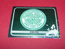 111 BADGE ECUSSON CELTIC GLASGOW UEFA PANINI FOOTBALL CHAMPIONS LEAGUE 2005 2006