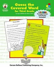 Guess the Covered Word for Third Grade by Kohfeldt, Joyce, Collier, Helen