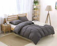 Colourful Snail 100-Percent Natural Washed Cotton Duvet Cover Set, Ultra Soft