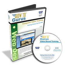 How to Make Internet Videos for the Web New Website Design Training 9 hrs DVD